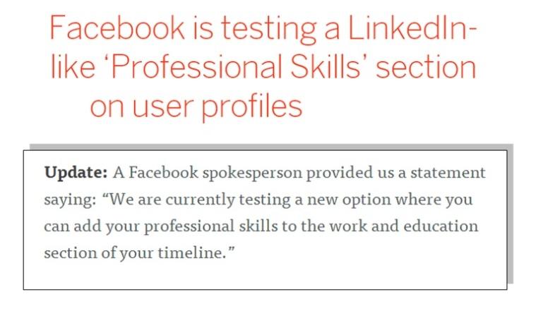 skill facebook