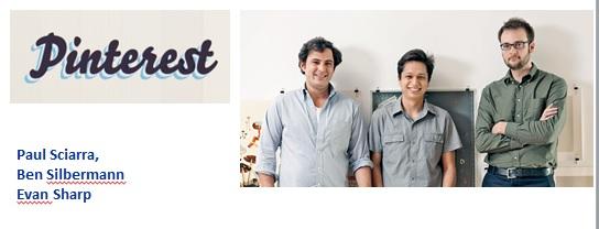 fondatori di pinterest