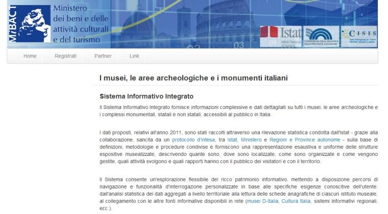 banca dati musei italiani