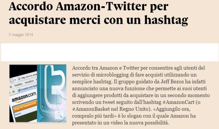 amazon twitter