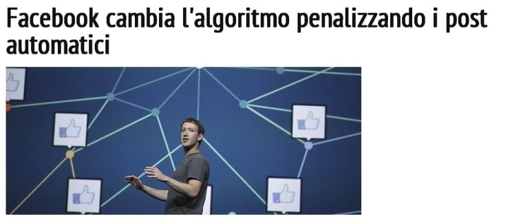 facebook penalizza