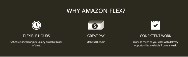 why amazon flex