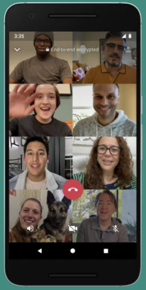 15 - videochiamate su Instagram con 8 persone